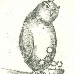 black & white - illustration- esfandiaryart