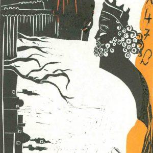 print - linocut & monotype -esfandiaryart