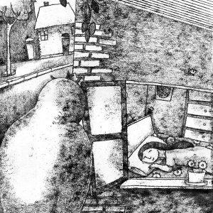 Ashbah.black-white-illustration - esfandiaryart
